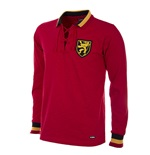 Belgium 1954 Long Sleeve Retro Football Shirt