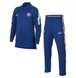 2018-2019 Chelsea Nike Dry Tracksuit (Blue) - Kids