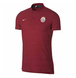2018-2019 Galatasaray Nike Authentic Grand Slam Polo Shirt (Pepper Red)