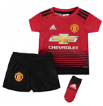 2018-2019 Man Utd Adidas Home Baby Kit
