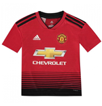 2018-2019 Man Utd Adidas Home Football Shirt (Kids)