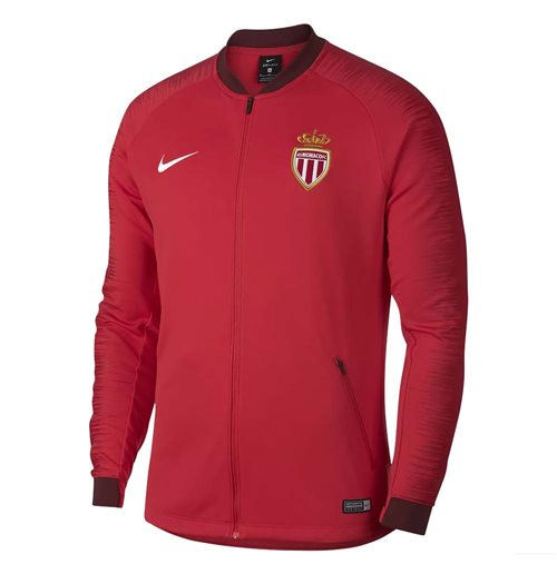 2018-2019 Monaco Nike Anthem Jacket (Red)