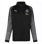 2018-2019 Newcastle Puma Stadium Jacket (Black)