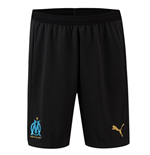 2018-2019 Olympique Marseille Puma Away Shorts (Black)