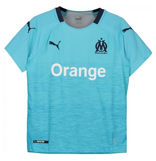 2018-2019 Olympique Marseille Puma Third Football Shirt (Kids)