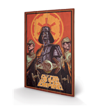 Star Wars Print on wood 308670
