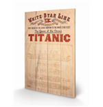 Titanic Print on wood 308672