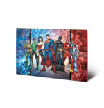 Justice League Print on wood 308674