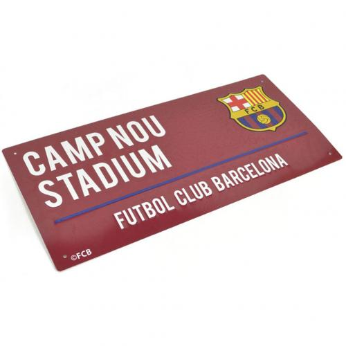 F.C. Barcelona Street Sign CL