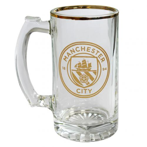 Manchester City F.C. Stein Glass Tankard