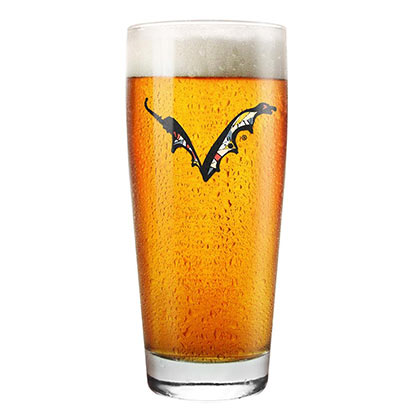 FLYING DOG Logo Beer Pint Glass