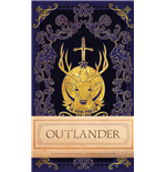 Outlander Hardcover Ruled Journal Logo
