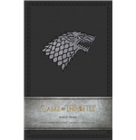 Game of Thrones Hardcover Ruled Journal House Stark