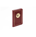 J.K. Rowling's Wizarding World Pocket Journal Travel Journal Platform 9 3/4