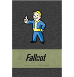 Fallout Hardcover Ruled Journal Vault Boy