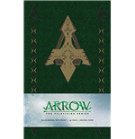 Arrow Hardcover Ruled Journal Logo