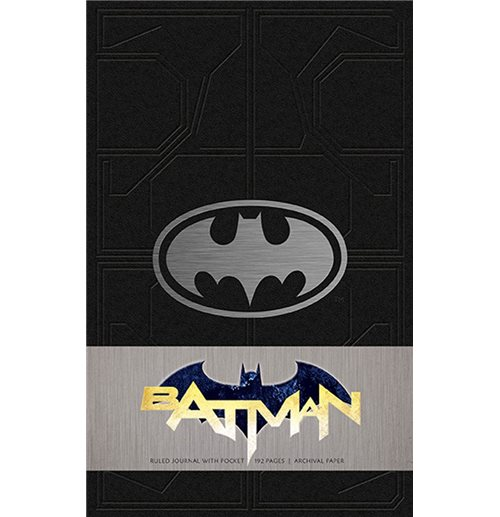Batman Hardcover Ruled Journal Logo