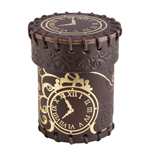 Steampunk Dice Cup brown & golden