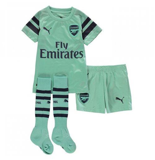 a9b335427d1 buy official 2018-2019 arsenal third little boys mini kit