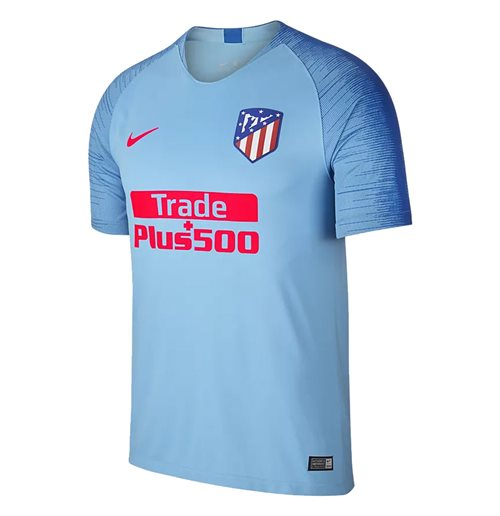 2018-2019 Atletico Madrid Away Nike Football Shirt