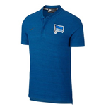 2018-2019 Hertha Berlin Nike Authentic Polo Shirt (Blue)
