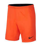 2018-2019 Man City Home Nike Goalkeeper Shorts (Orange)