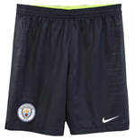 2018-2019 Man City Away Nike Football Shorts (Kids)