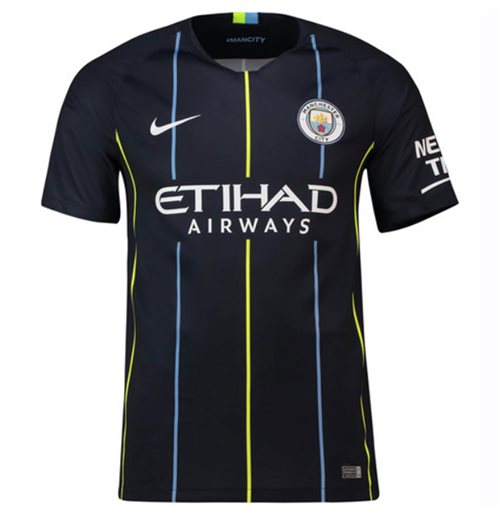 67592a979 Buy Official 2018-2019 Man City Away Nike Football Shirt