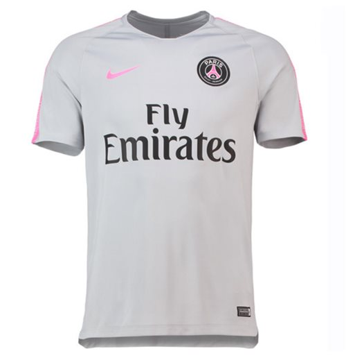 super popular 7ce6d a5f7f 2018-2019 PSG Nike Squad Training Shirt (Wolf Grey) - Kids