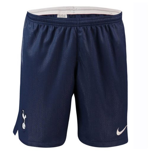 2018-2019 Tottenham Home Nike Football Shorts (Navy)