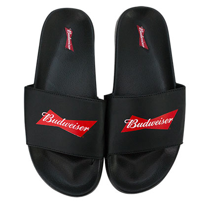 BUDWEISER Beer Soccer Slides Men's Sandals