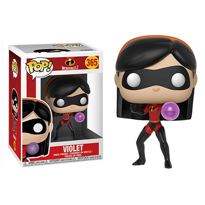 Disney INCREDIBLES 2 Violet Funko Pop Vinyl Figure Bobblehead