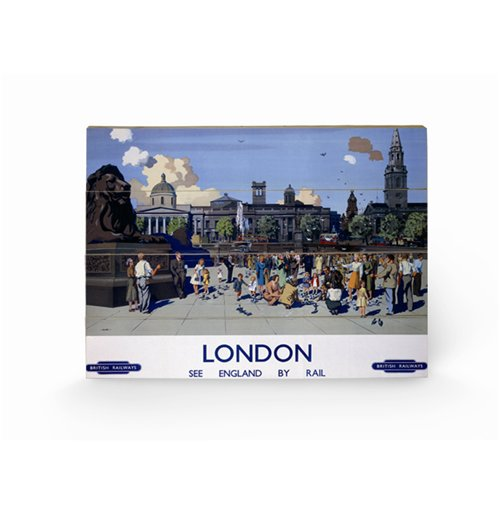 London Print on wood 309372