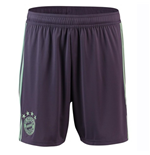 2018-2019 Bayern Munich Adidas Away Shorts (Purple)