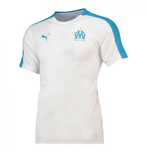 on sale f954e 4f207 2018-2019 Olympique Marseille Puma Stadium Jersey (White)