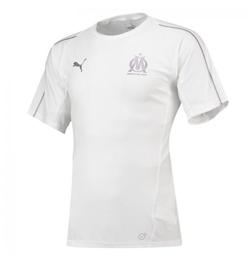 2018-2019 Olympique Marseille Puma Training Jersey (White)