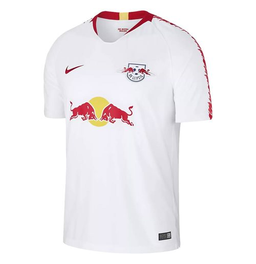 2018-2019 Red Bull Leipzig Home Nike Football Shirt