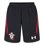 2018-2019 Southampton Home Football Shorts (Black) - Kids