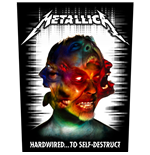 Metallica Back Patch: Hardwired to Self Destruct