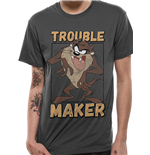 Looney Tunes - Taz Trouble Maker - Unisex T-shirt Grey