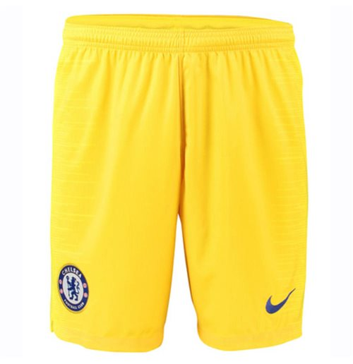 2018-2019 Chelsea Away Nike Football Shorts (Yellow)