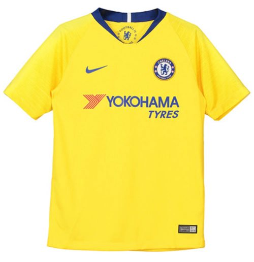 2018-2019 Chelsea Away Nike Football Shirt (Kids)