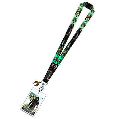 AQUAMAN Avengers Movie Design Lanyard ID Holder