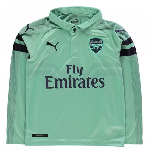 2018-2019 Arsenal Puma Third Long Sleeve Shirt (Kids)