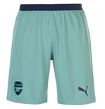 2018-2019 Arsenal Third Football Shorts (Green)
