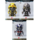 Transformers The Last Knight Super Deformed Vinyl Figures 10 cm Assortment (6)