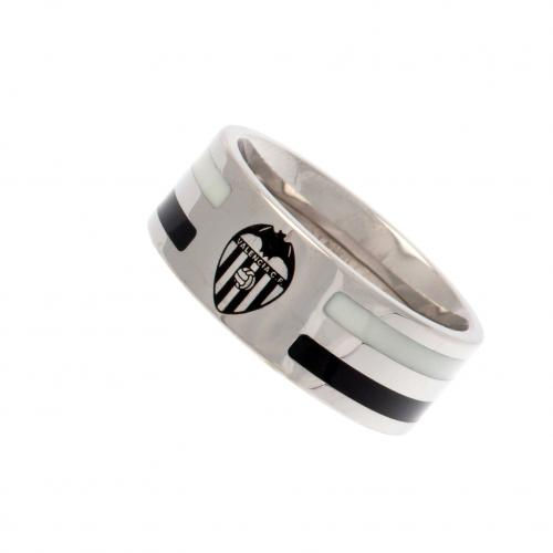 Valencia C.F. Colour Stripe Ring Small