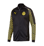 2018-2019 Borussia Dortmund Puma Stadium Jacket (Black) - Kids