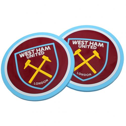 West Ham United F.C. 2pk Coaster Set