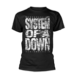 System Of A Down T-shirt Distressed Logo